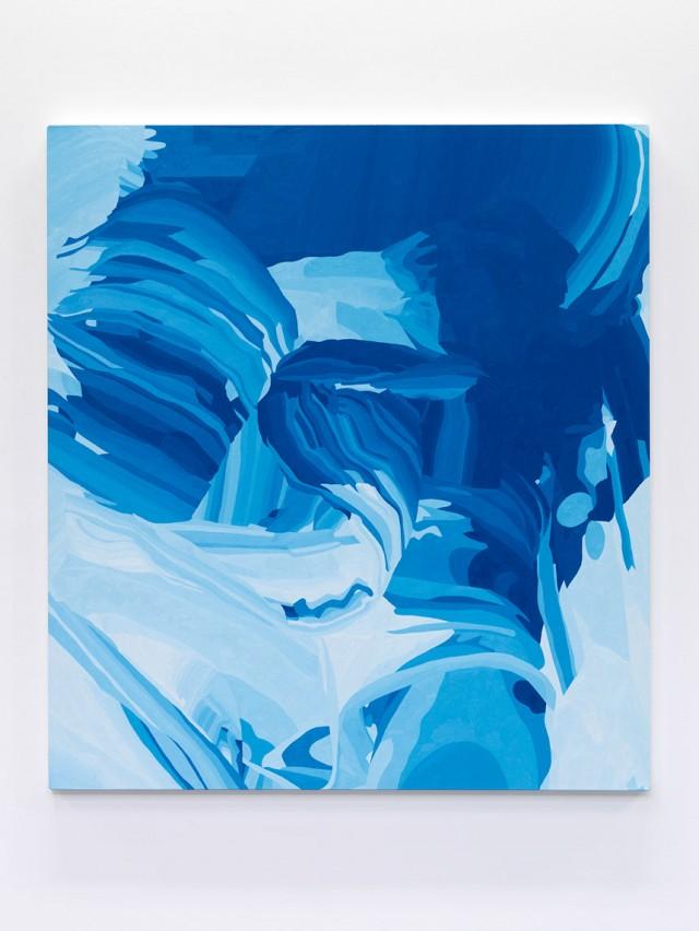 "Oil on canvas; 50 x 45"""